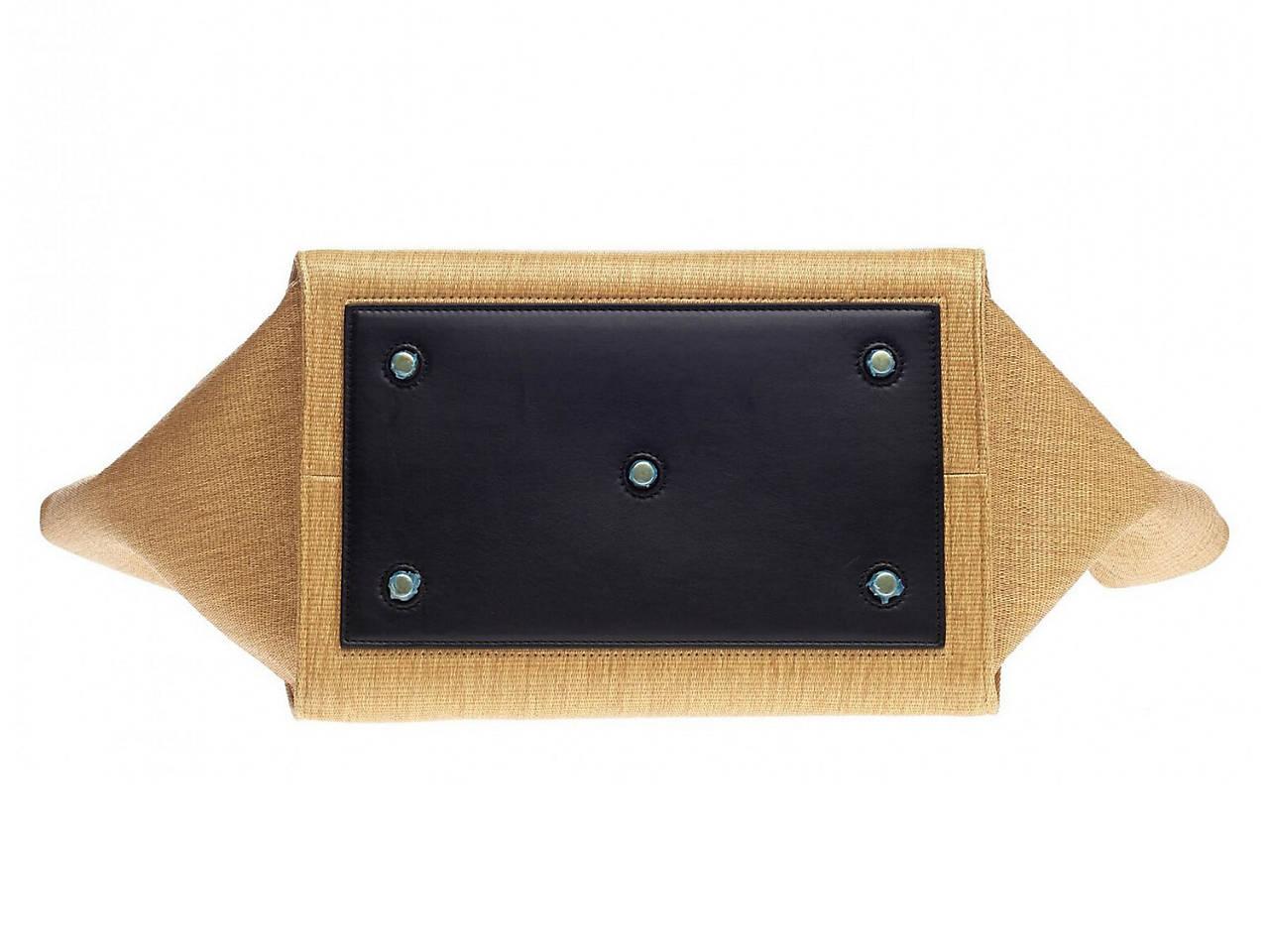 8a04a3586ca Celine - Vintage Luxury Tie Raffia Leather Satchel Women s Handbags ...