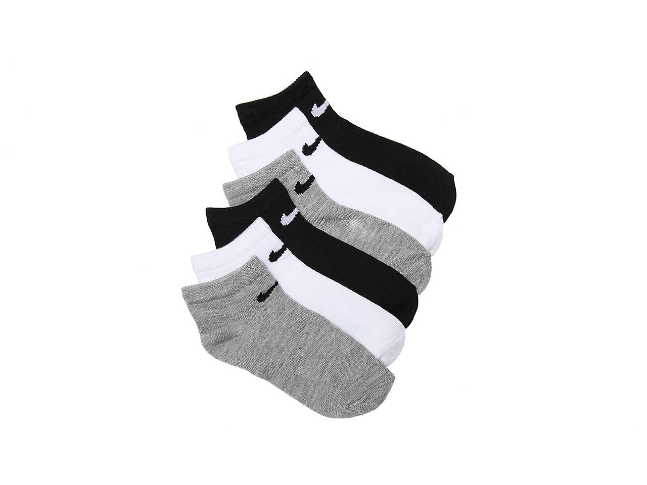Nike Young Athletes Toddler & Youth No Show Socks - 6 Pack Kids ...