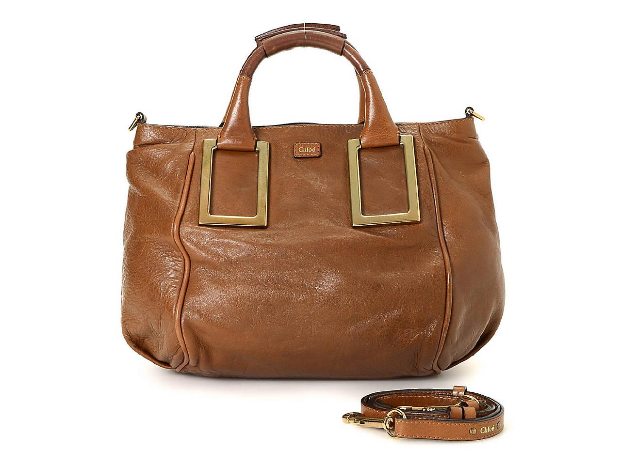 Chloe - Vintage Luxury Ethel Leather Satchel Women s Handbags ... 2df754610