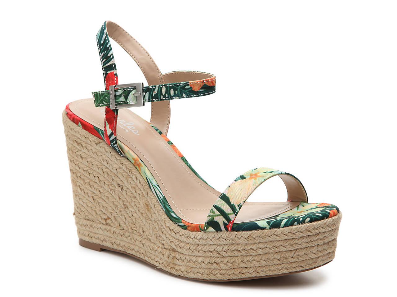 e27b2f78c Charles by Charles David Lizzie Wedge Sandal Women s Shoes