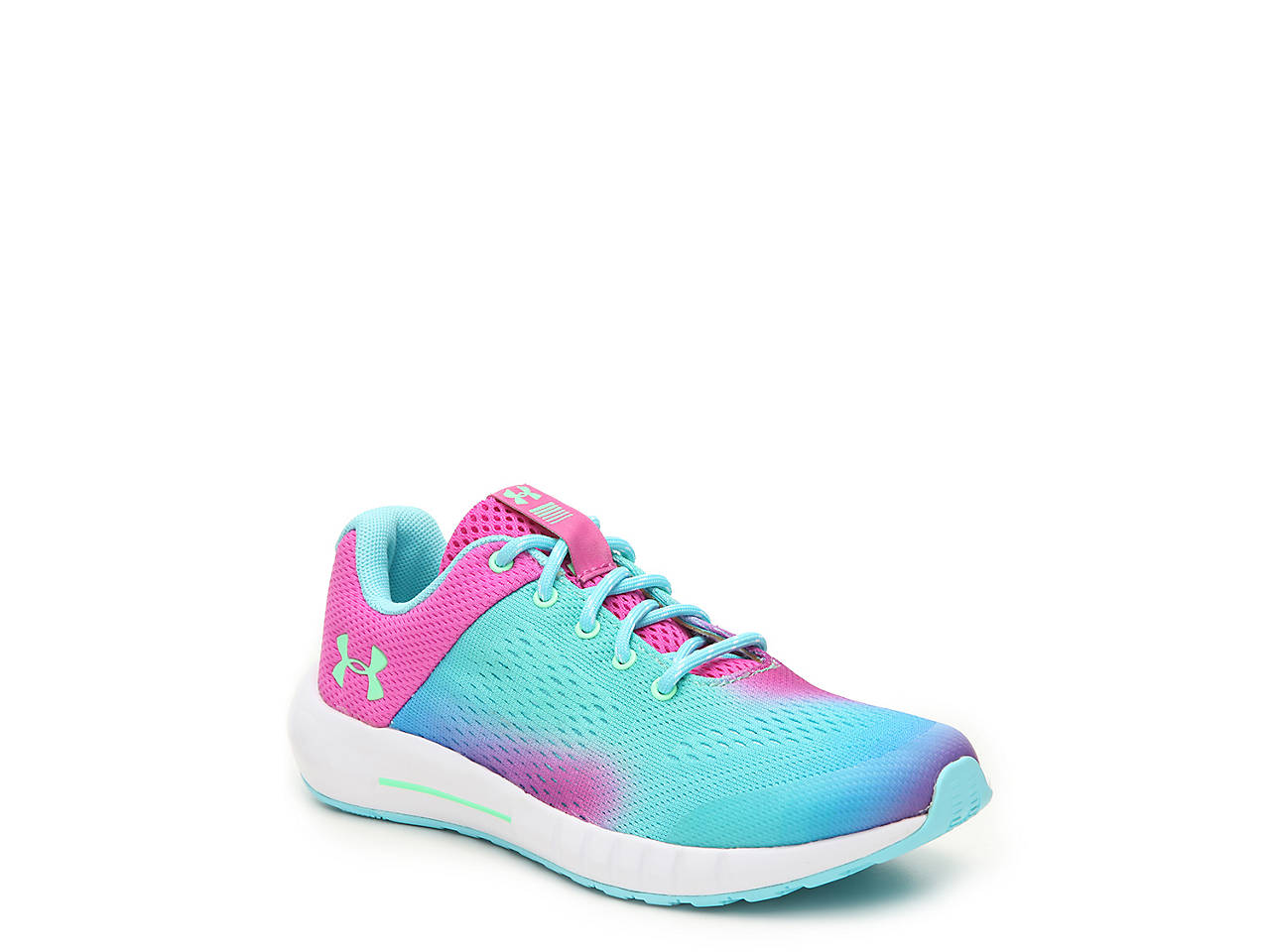 dde4b3f7 Under Armour Pursuit Prism Toddler & Youth Running Shoe Kids Shoes   DSW