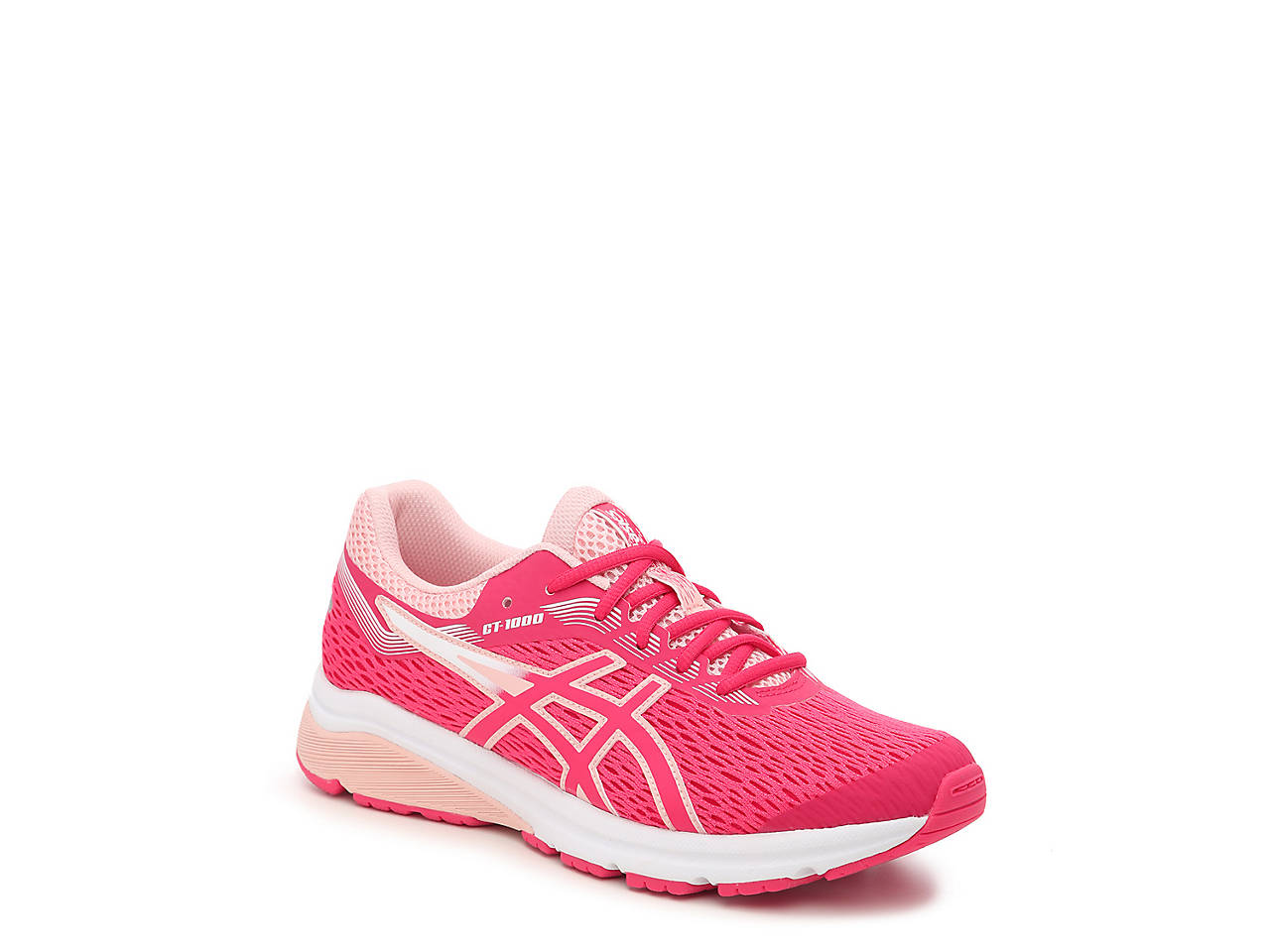 6fcacc4b03 ASICS GT-1000 7 GS Youth Running Shoe Kids Shoes | DSW