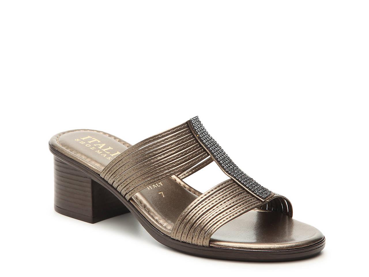 cc4d4bcc3 Italian Shoemakers Rhinestone Sandal Women s Shoes