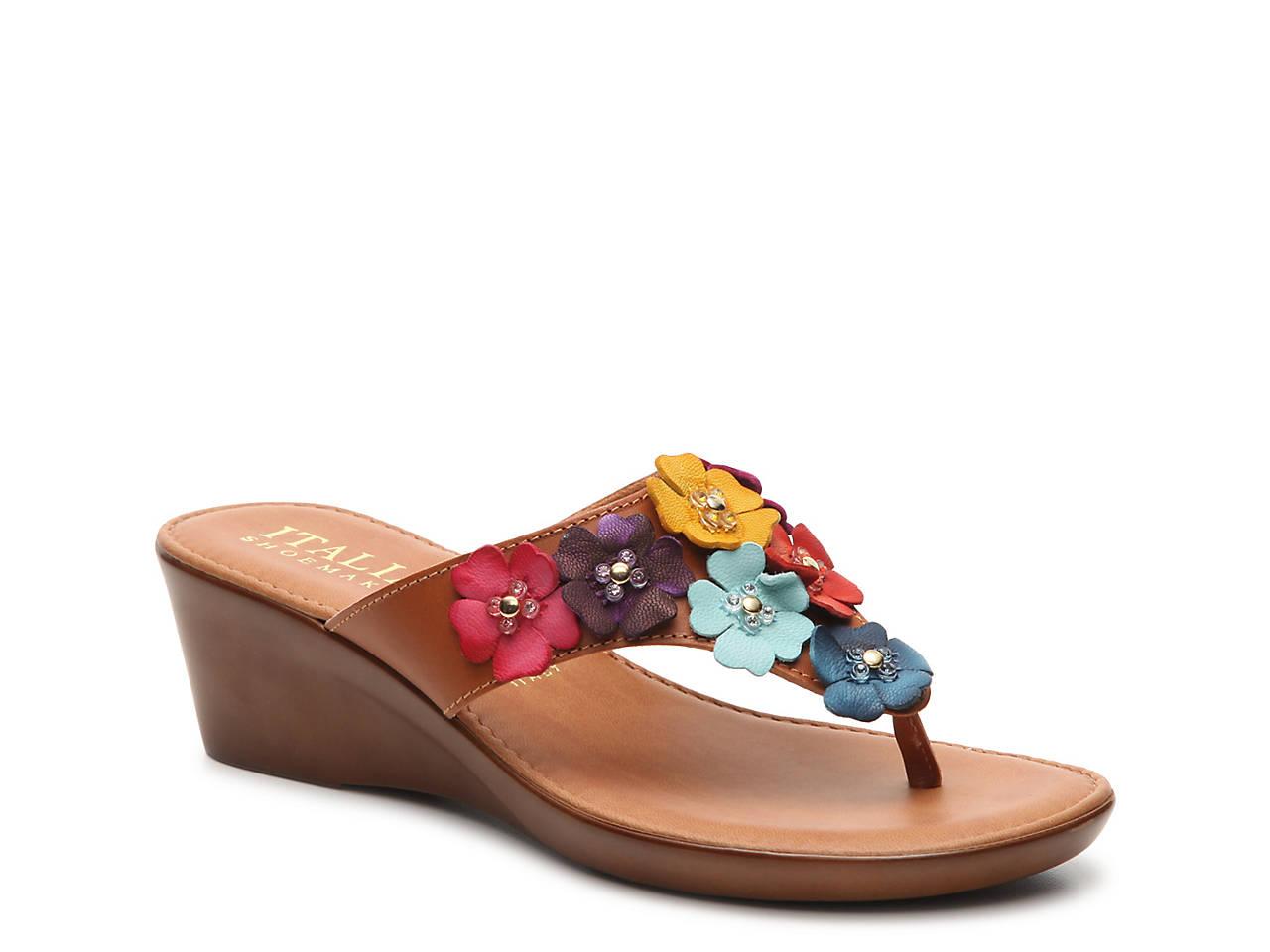 e4ced852a512 Italian Shoemakers Gisselle Wedge Sandal Women s Shoes