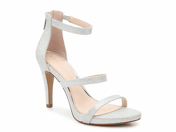 Kelly Katie Womens tamatha Open Toe Ankle Strap Classic champagne Size 9.5 k