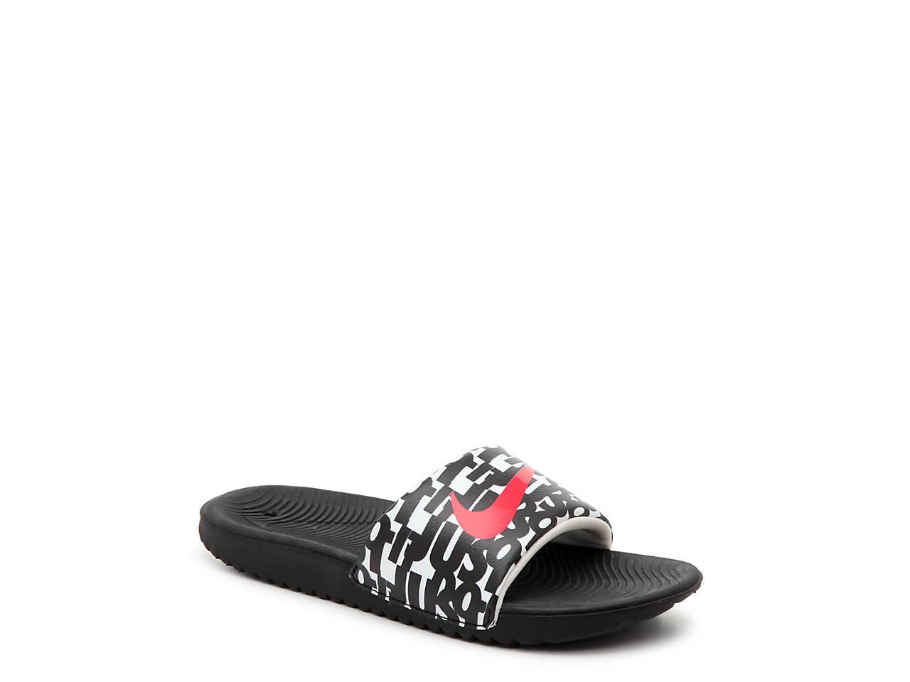 99ecda69d Nike Kawa Toddler   Youth Slide Sandal Kids Shoes