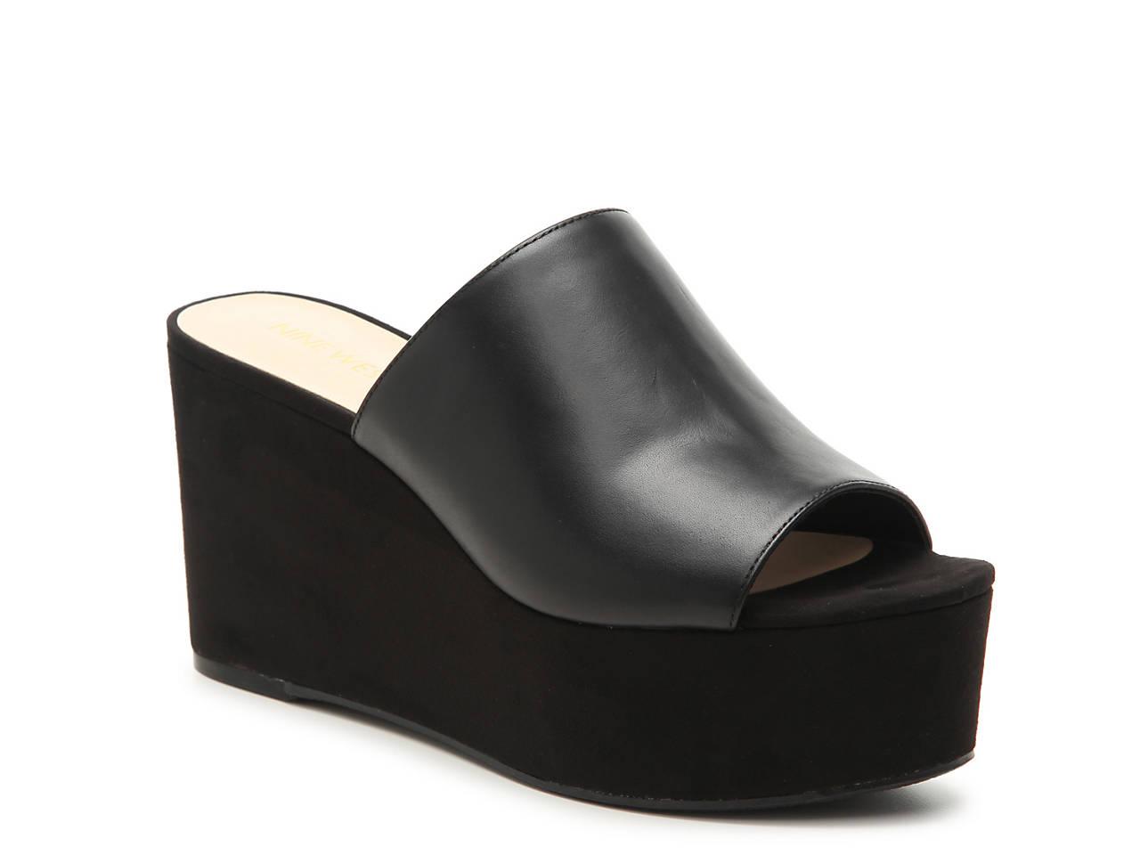 b5fbe296b096 Nine West Kelsawn Wedge Sandal Women s Shoes