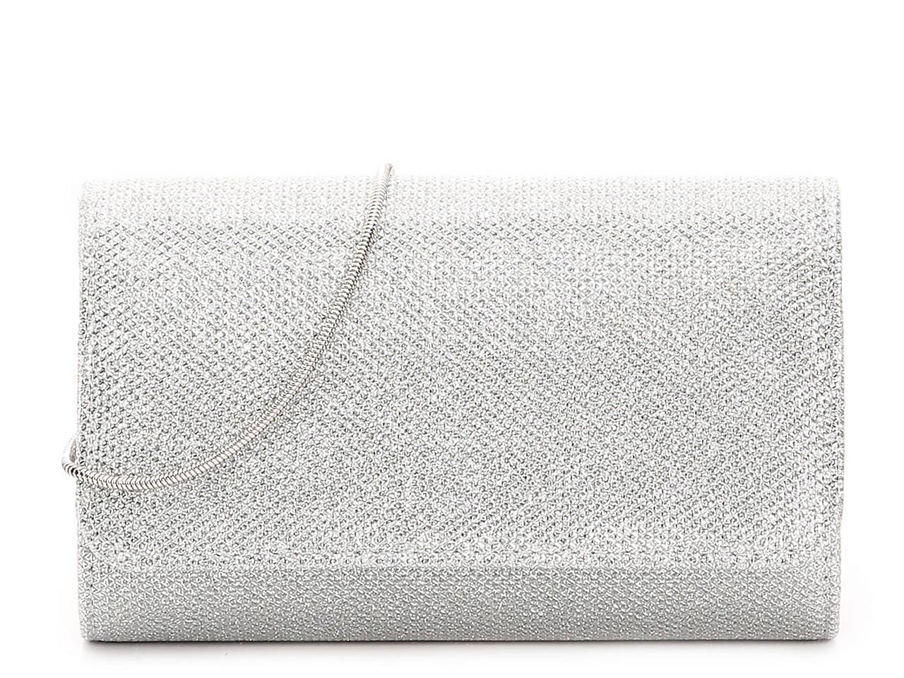 7c2fc96de La Regale Glitter Flap Clutch Women's Handbags & Accessories | DSW