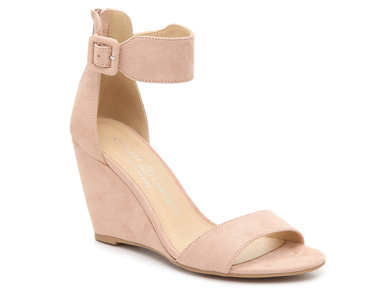 ccdebbf682b Chinese Laundry Caring Wedge Sandal Women s Shoes