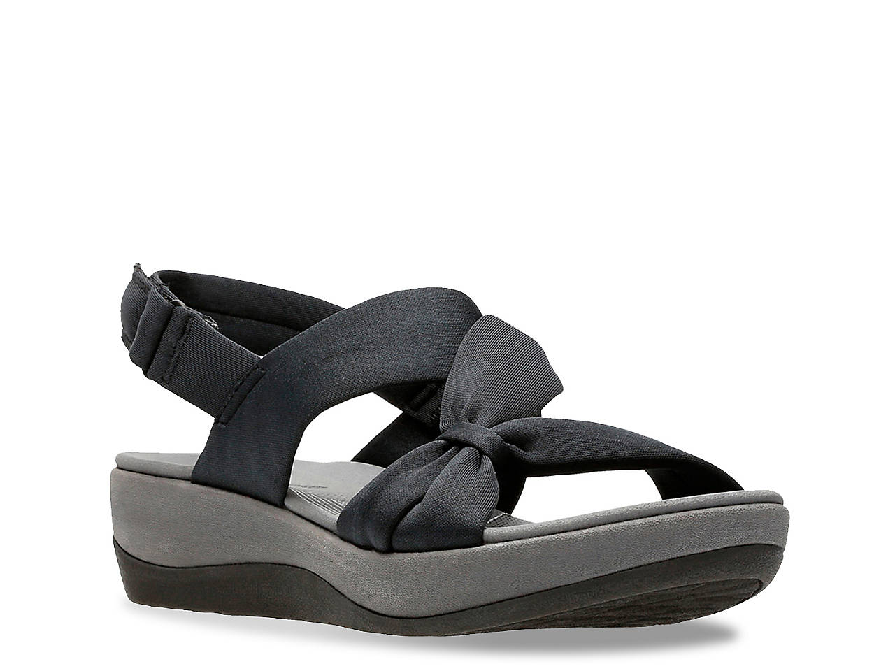 c9070e6c4945 Cloudsteppers by Clarks Arla Primrose Wedge Sandal Women s Shoes