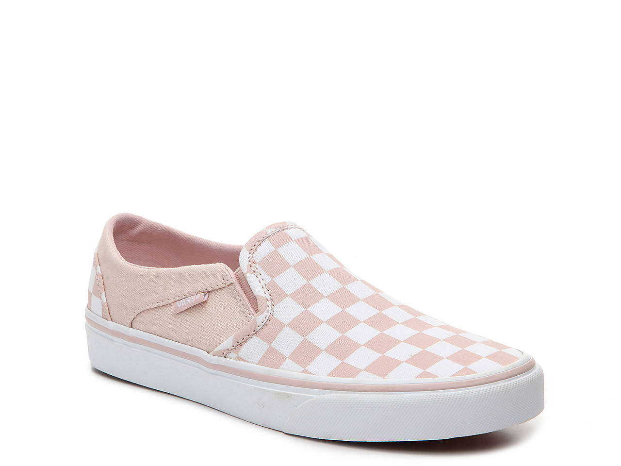 4638bf6ac23 Vans Asher Checkered Slip-On Sneaker - Women s Women s Shoes