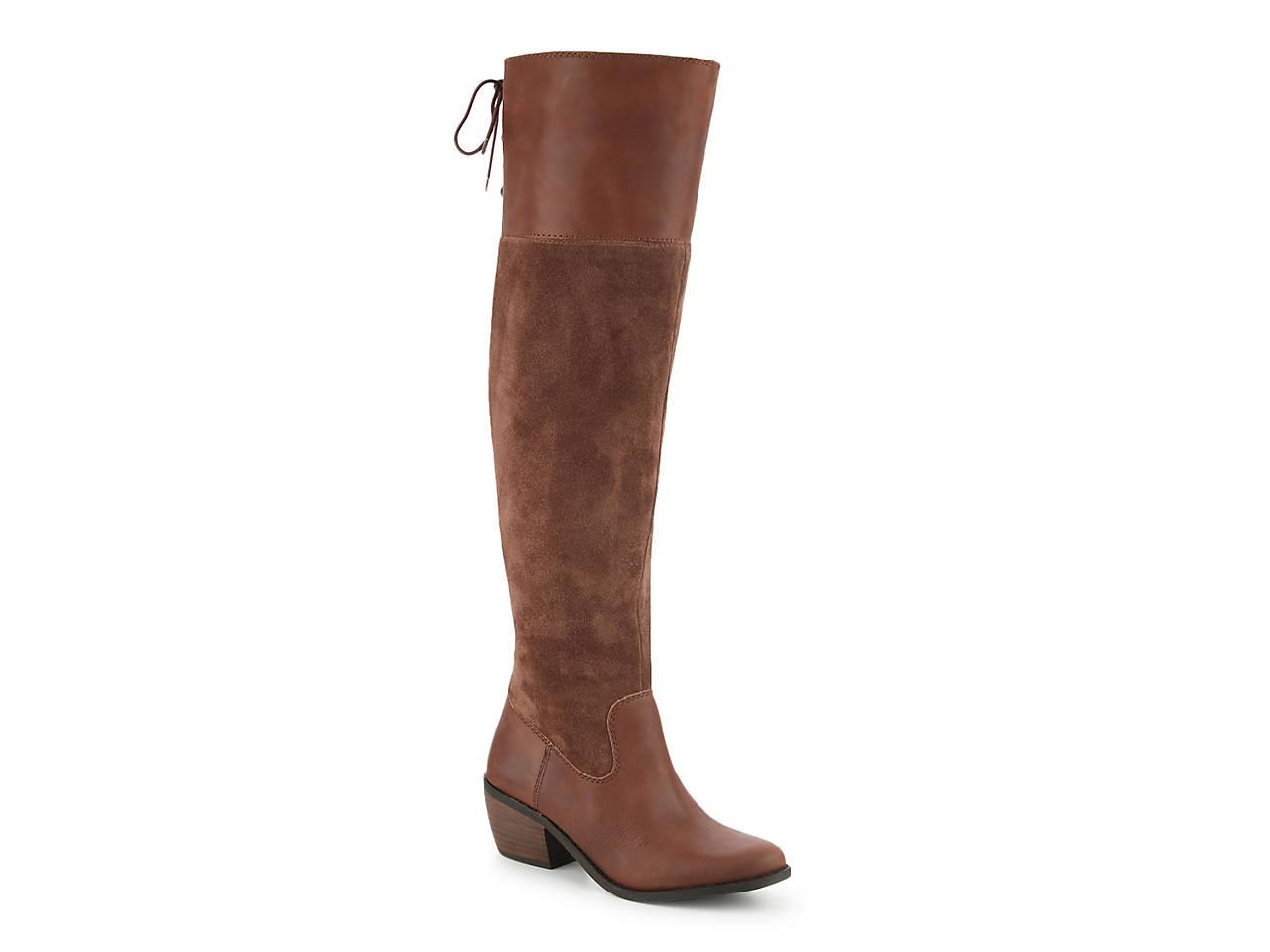 5688449b1fe Lucky Brand Komah Over The Knee Boot Men s Shoes