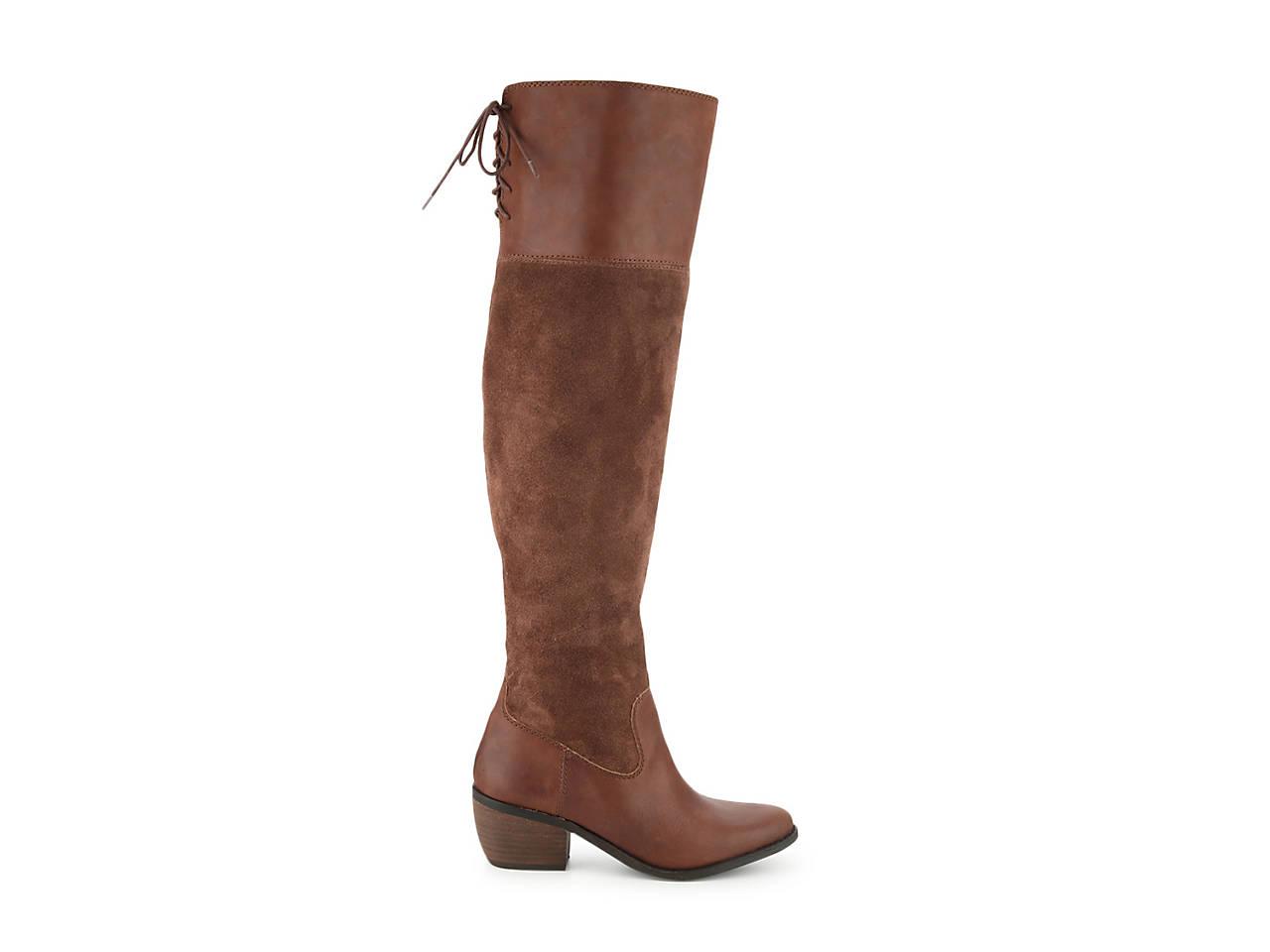 87d10e36b63 Lucky Brand Komah Over The Knee Boot Men s Shoes