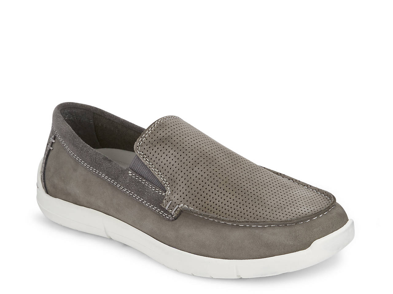 Pay With Paypal For Sale Dockers Alcove Slip-On(Men's) -Oyster Leather Cheap Sale Eastbay Store Sale Online Free Shipping Get To Buy Cheap Manchester Great Sale 65U41DKBwx
