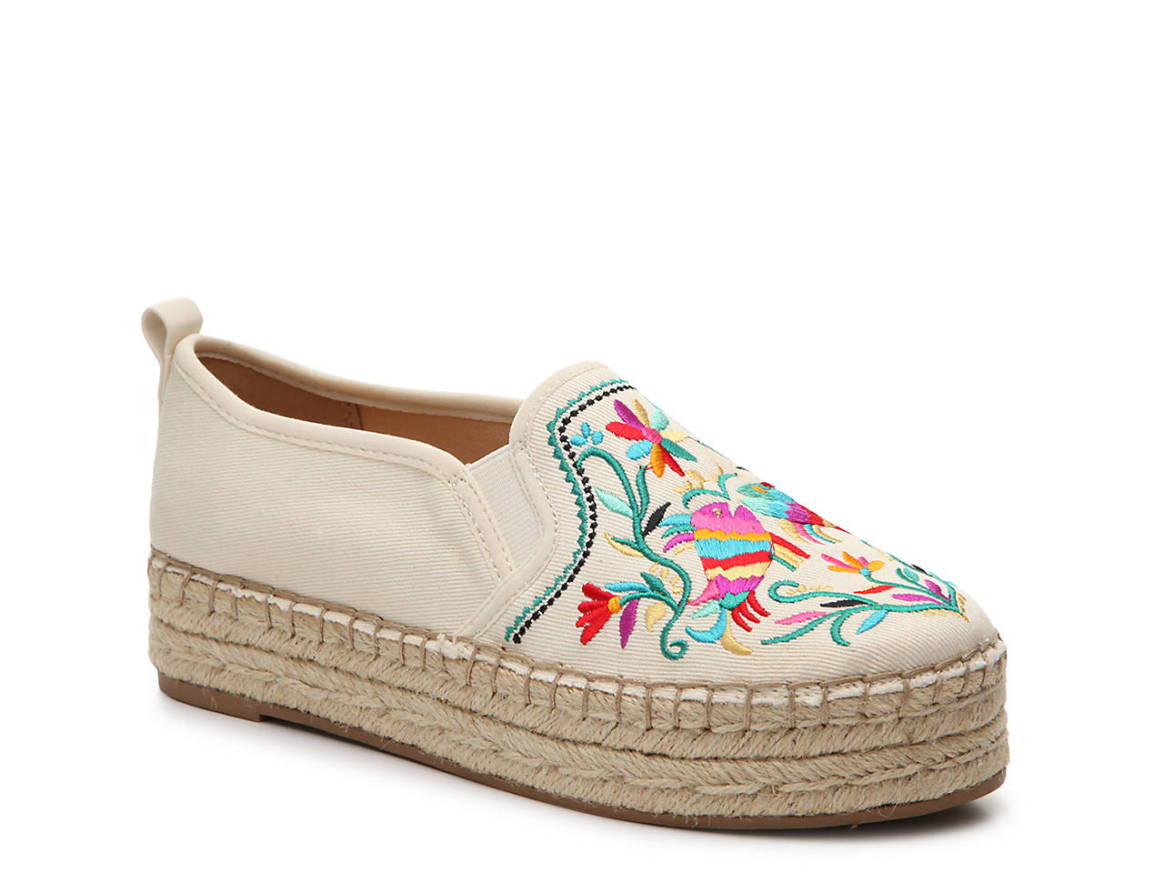 64eaf5213cde Sam Edelman Carrin Espadrille Platform Slip-On Women s Shoes