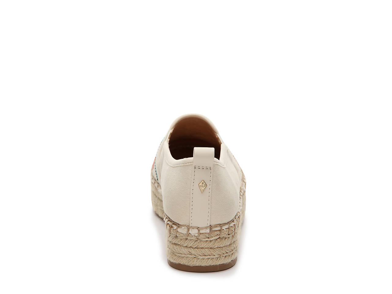 bcfc546aa657 Sam Edelman Carrin Espadrille Platform Slip-On Women s Shoes