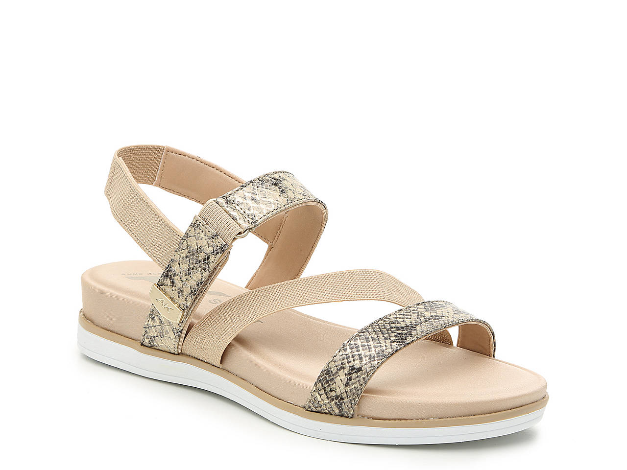 82fc3872595 Anne Klein Sport Nolita Wedge Sandal Women s Shoes