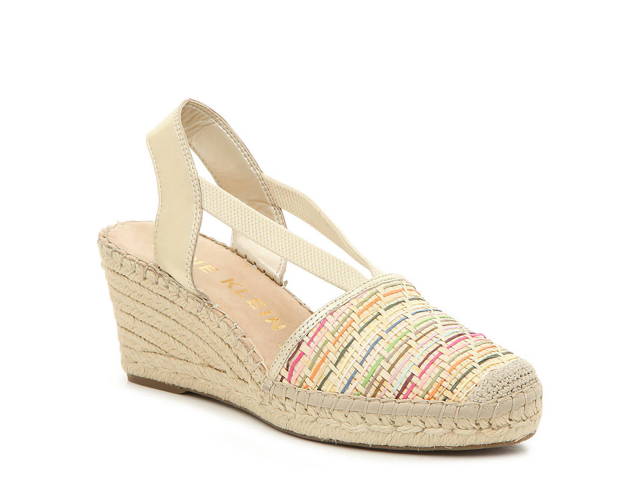 aac0f4c7981b Anne Klein Abbey Espadrille Wedge Sandal Women s Shoes