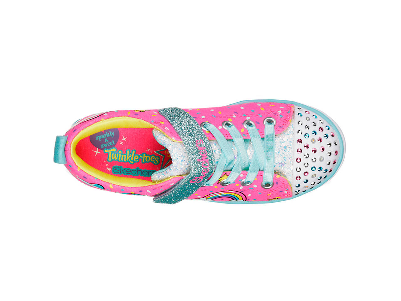 d4d2c74576ac Skechers Twinkle Toes Unicorn Craze Toddler   Youth Light-Up Sneaker ...