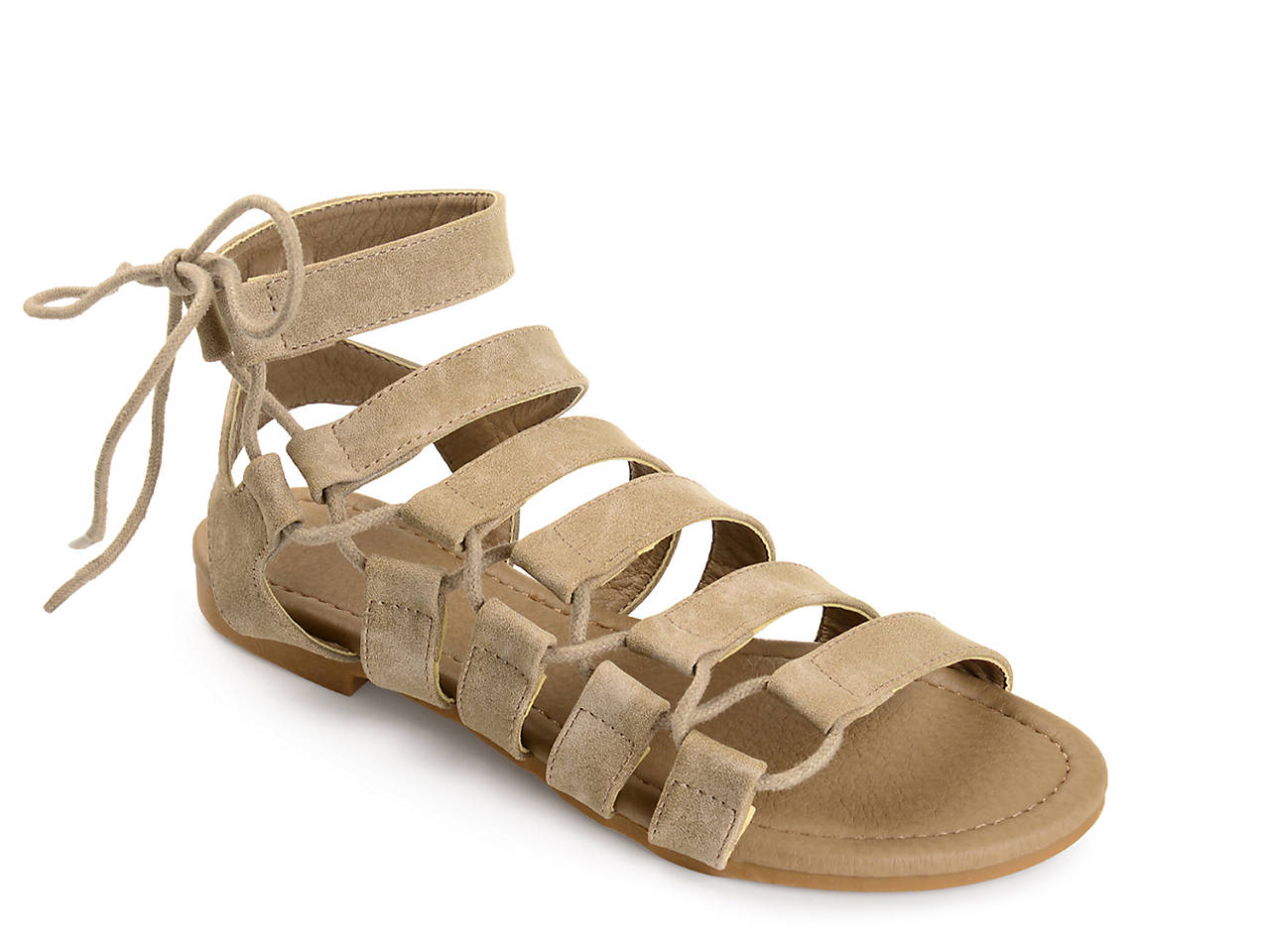 191a4179350 Journee Collection Cleo Gladiator Sandal Women s Shoes
