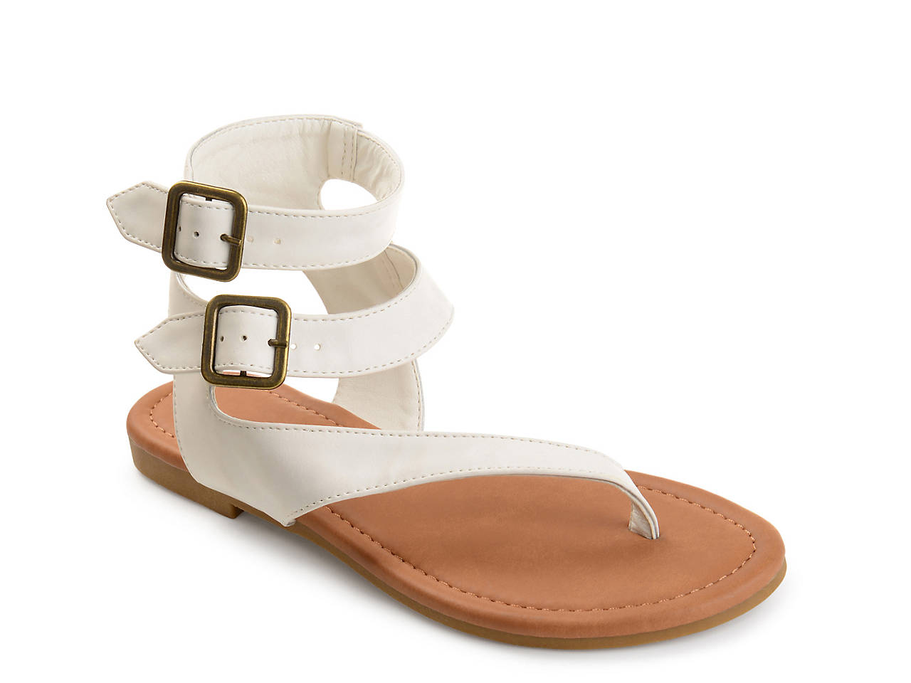 a34cdf76bef Journee Collection Kyle Flat Sandal Women s Shoes