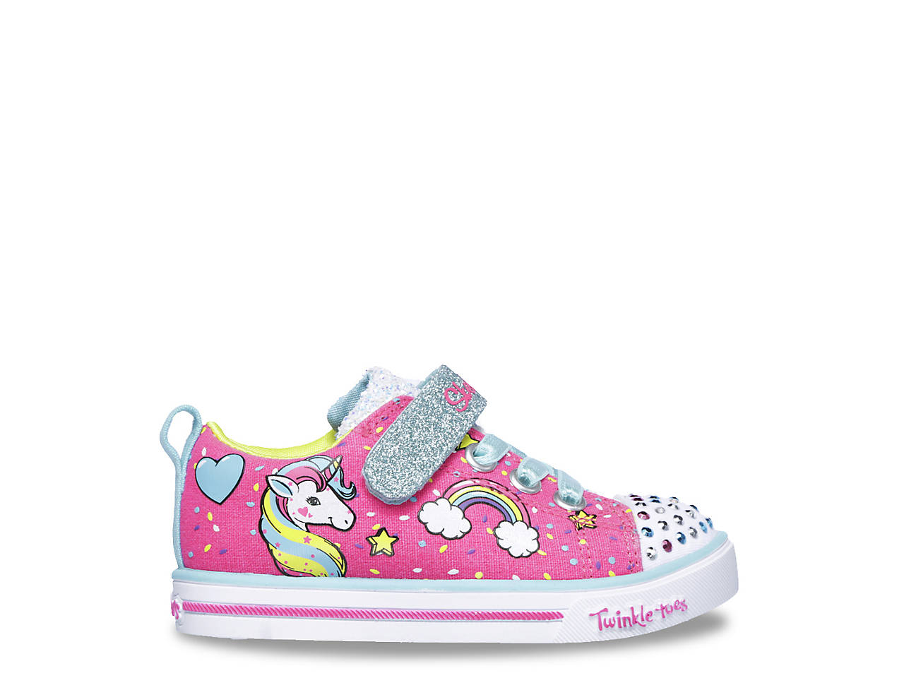 5909d1b1d525 Twinkle Toes Shuffle Sparkle Lite Unicorn Craze Toddler Light-Up Sneaker.  next