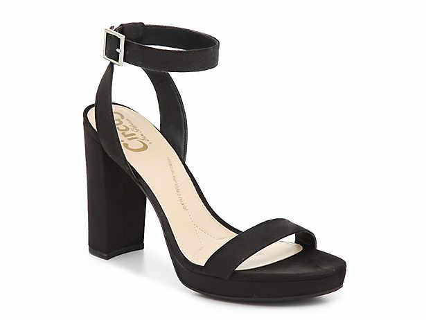 Women S Block Sandals Size 7 Dsw