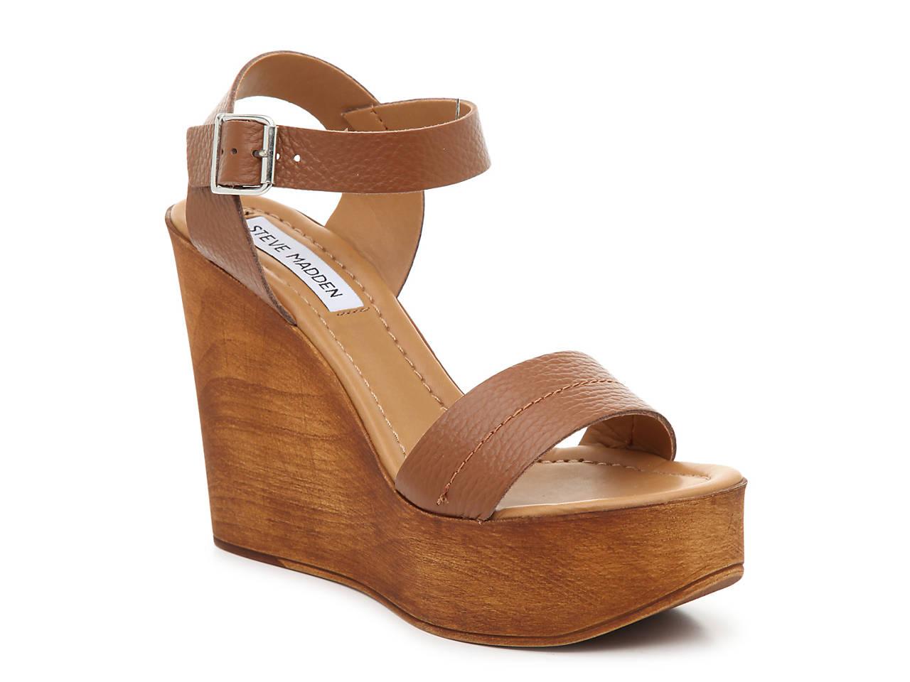 2afbffa44ad Steve Madden Belma Wedge Sandal Women s Shoes