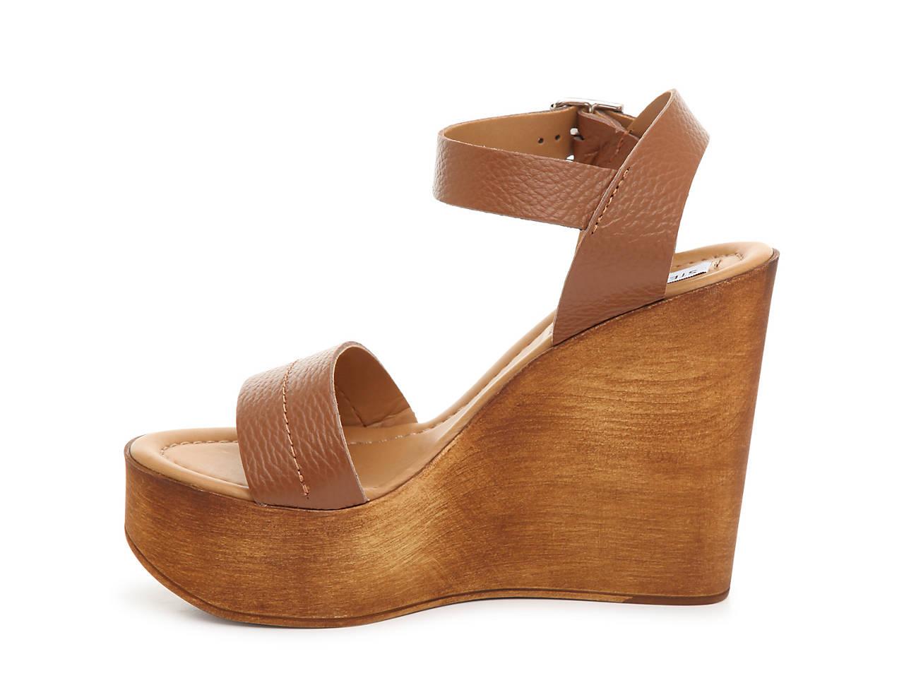 d558fb8fbfa Steve Madden Belma Wedge Sandal Women s Shoes