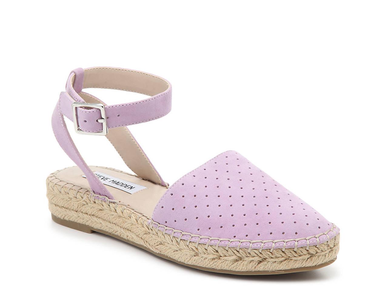 009c5dbeb46 Steve Madden Lesko Espadrille Flat Women s Shoes