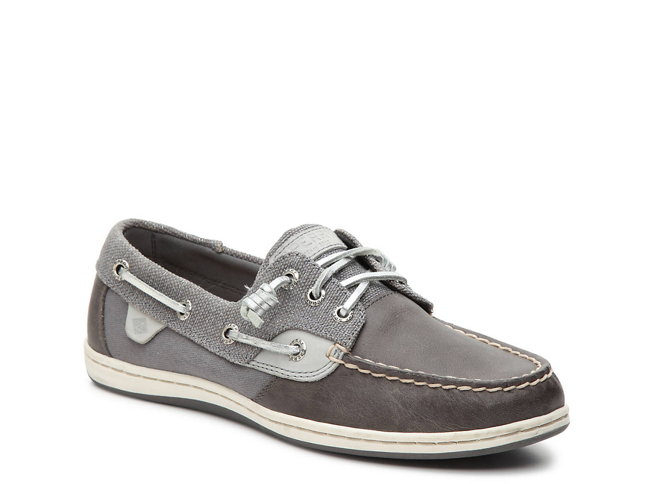 57a58c5ce654 Sperry Top Sider Fish Sparkle Boat Shoe Women S Shoes Dsw
