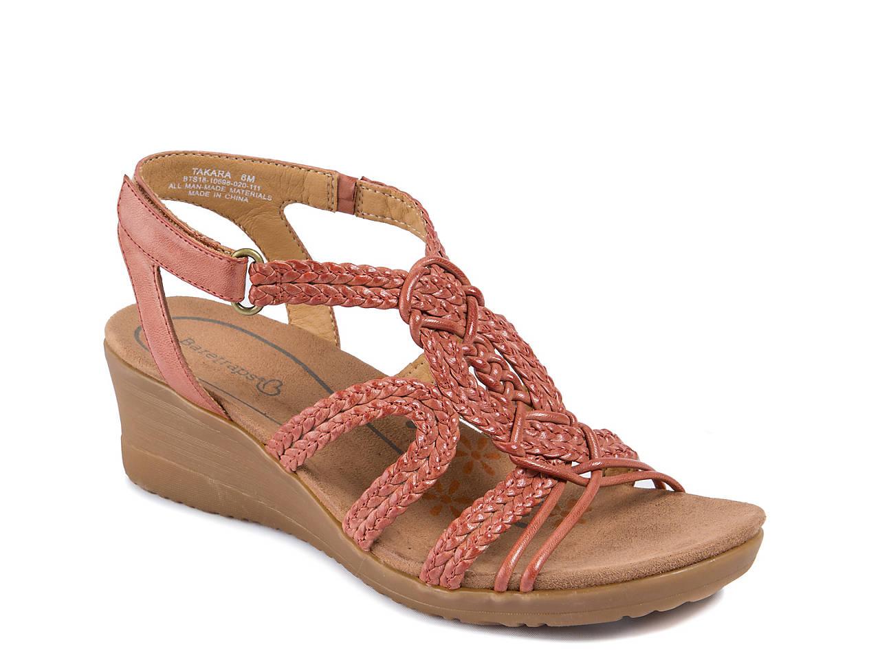 f23cbe3fc5 Bare Traps Takara Wedge Sandal Women's Shoes   DSW