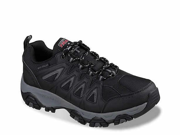 skechers memory foam hiking boots