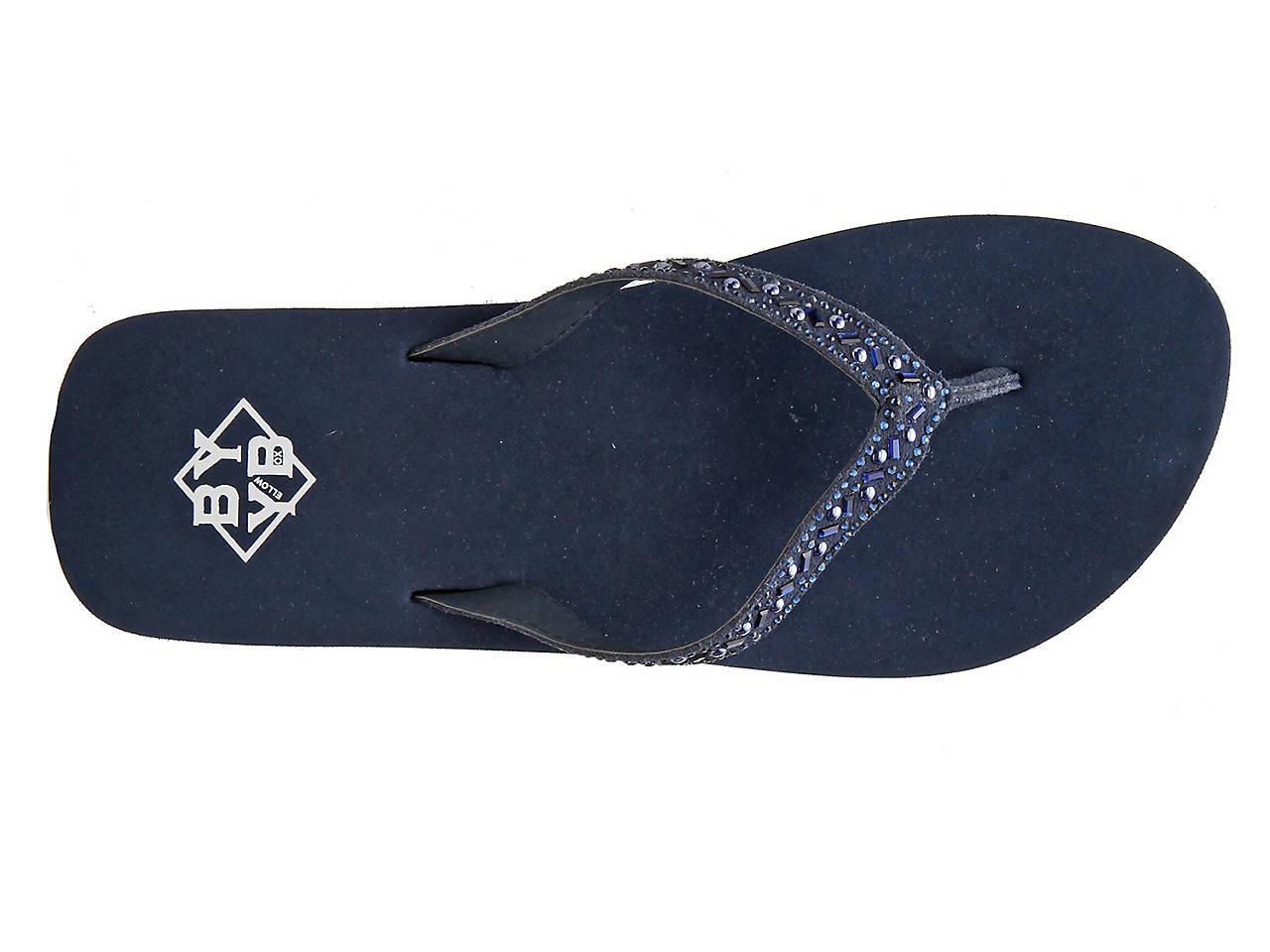 e01619193e9 BYYB Elara Wedge Flip Flop Women s Shoes