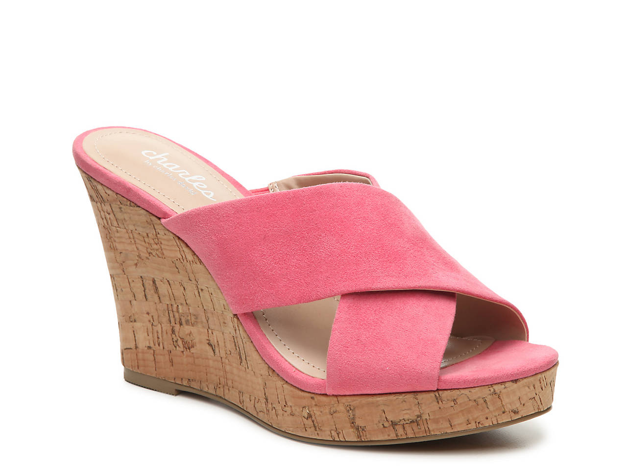 7bfc49a6f5f Charles by Charles David Latrice Wedge Sandal Women s Shoes