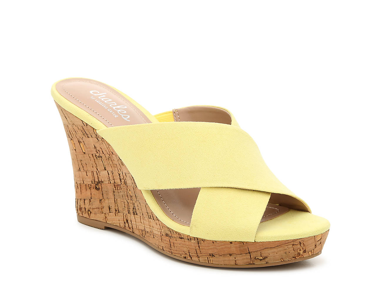 76a2e322b8 Charles by Charles David Latrice Wedge Sandal Women's Shoes | DSW