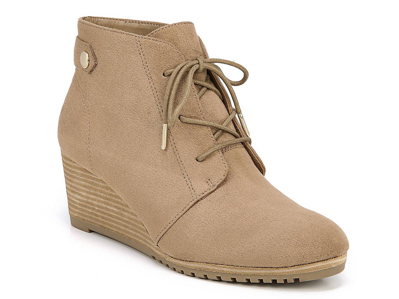 4d7f0037cdc3 Dr. Scholl s Conquer Wedge Bootie Women s Shoes