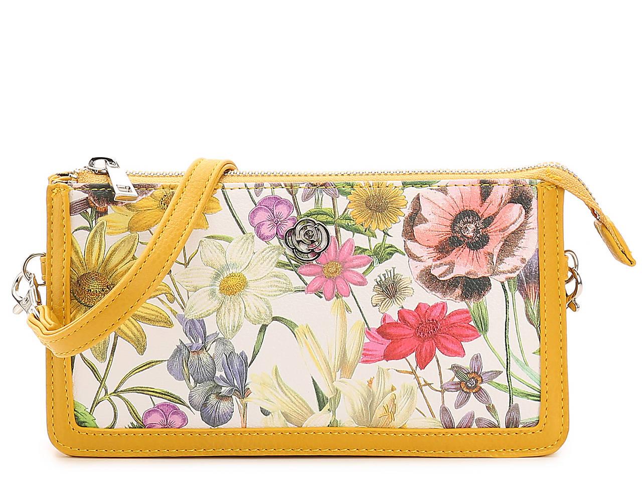 764120b48 Carlos by Carlos Santana Floral Crossbody Bag Women s Handbags ...