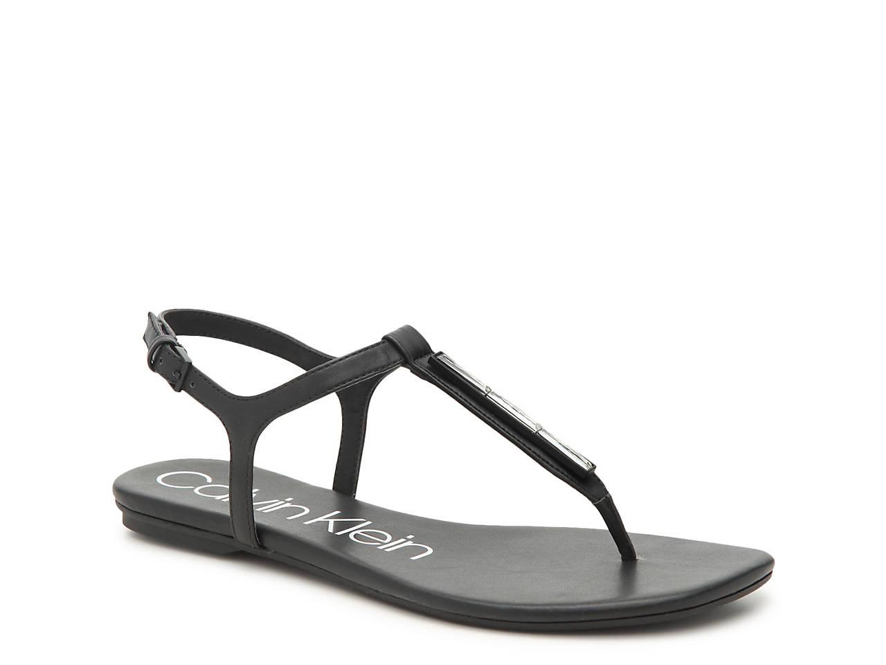 a6a4eaa86 Calvin Klein Sharene Sandal Women's Shoes | DSW