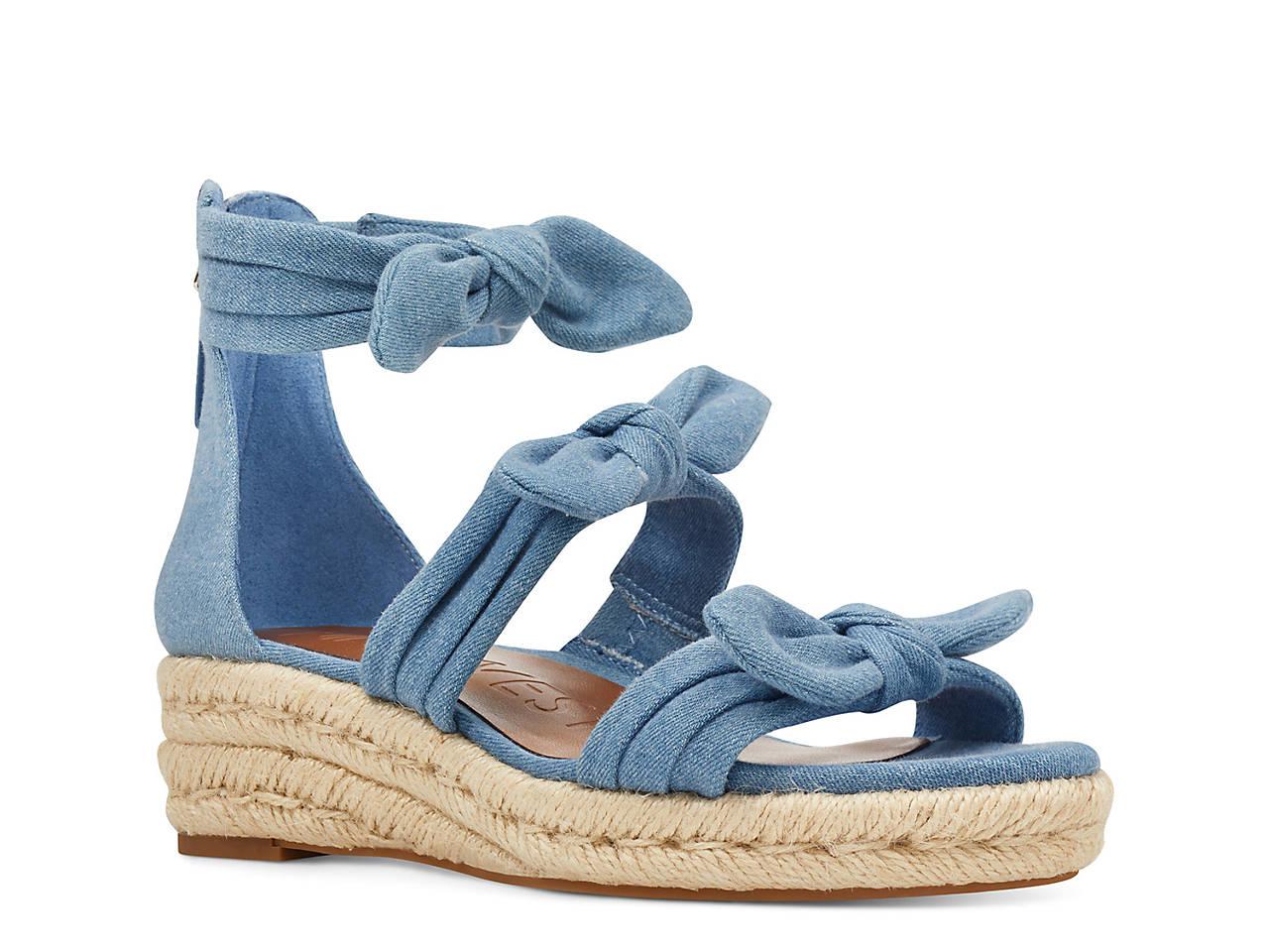 e89bb372a73 Nine West Allegro Wedge Sandal Women s Shoes
