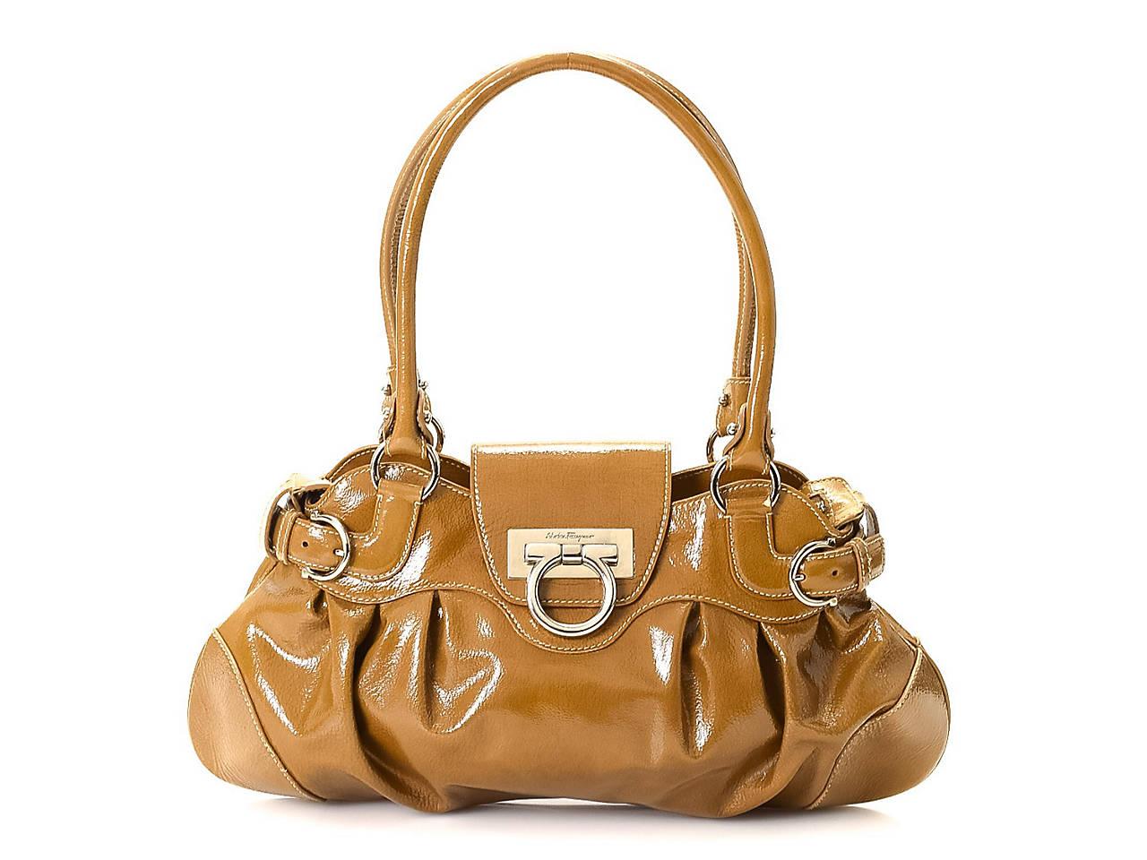 76afce55e3 Salvatore Ferragamo - Vintage Luxury Marisa Leather Shoulder Bag ...