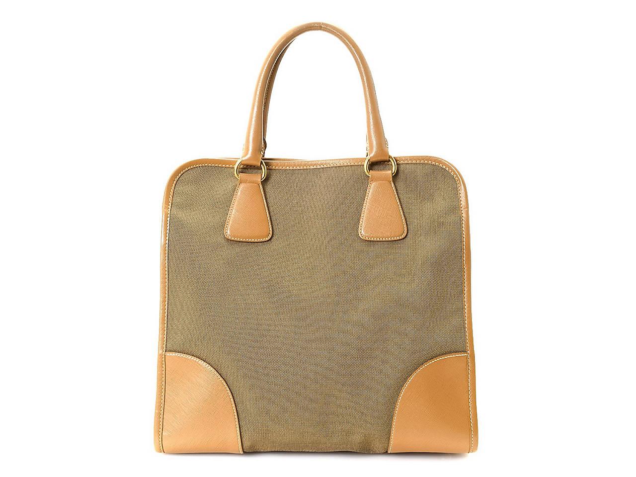 2271f5886c86 Prada - Vintage Luxury Jacquard Two Way Tote Women's Handbags ...