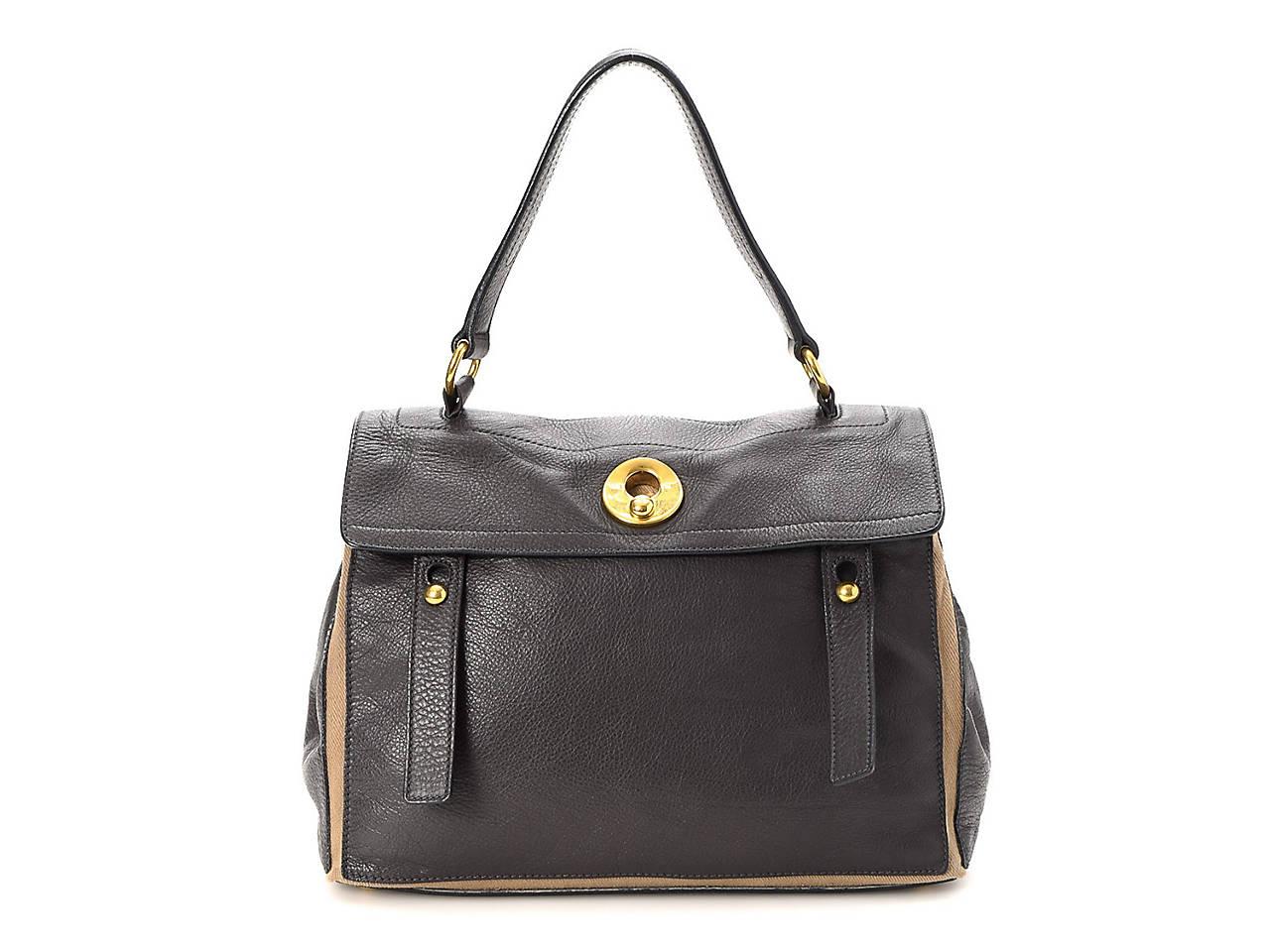 Yves Saint Laurent - Vintage Luxury Muse Two Leather Shoulder Bag ... b8285488d7c21