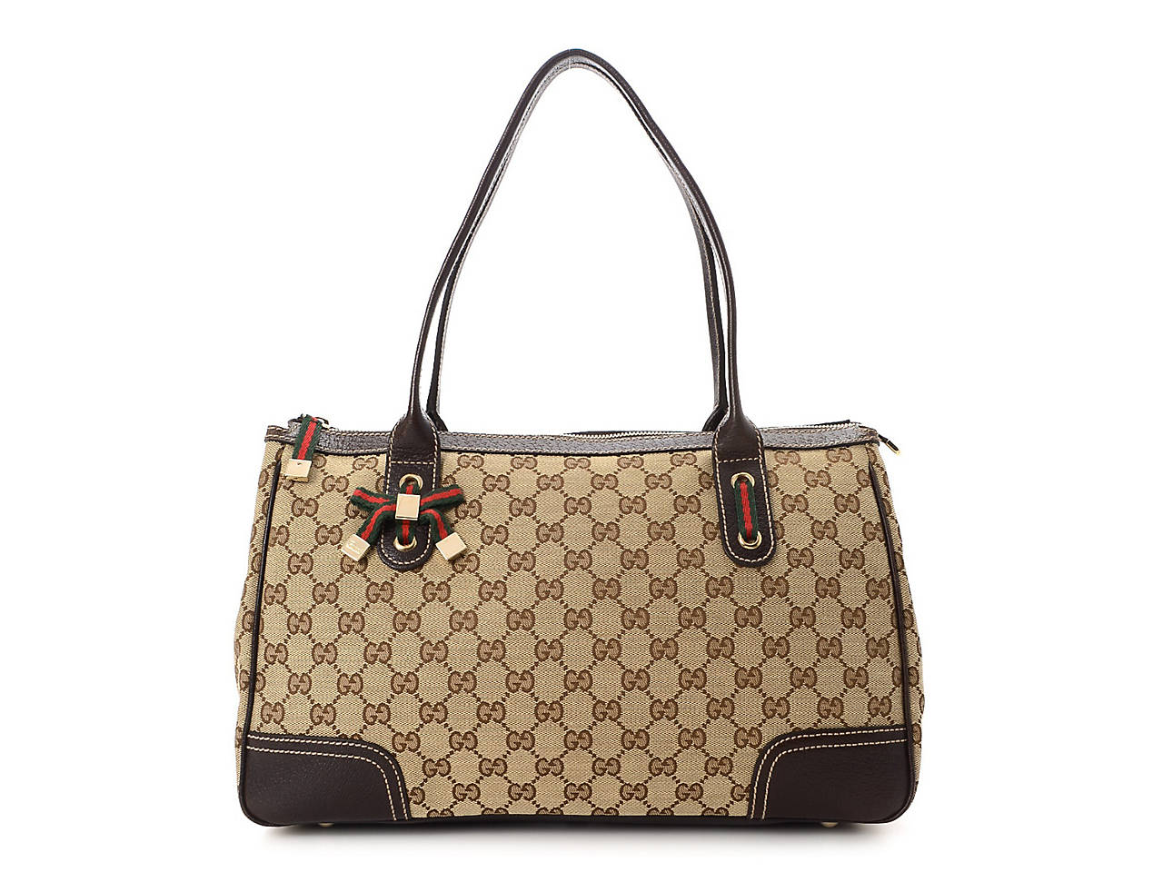 6dc9393eac9 Gucci - Vintage Luxury GG Canvas Princy Tote Women s Handbags ...