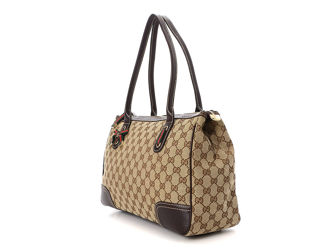ef479d2a8d7 Gucci - Vintage Luxury GG Canvas Princy Tote Women s Handbags ...