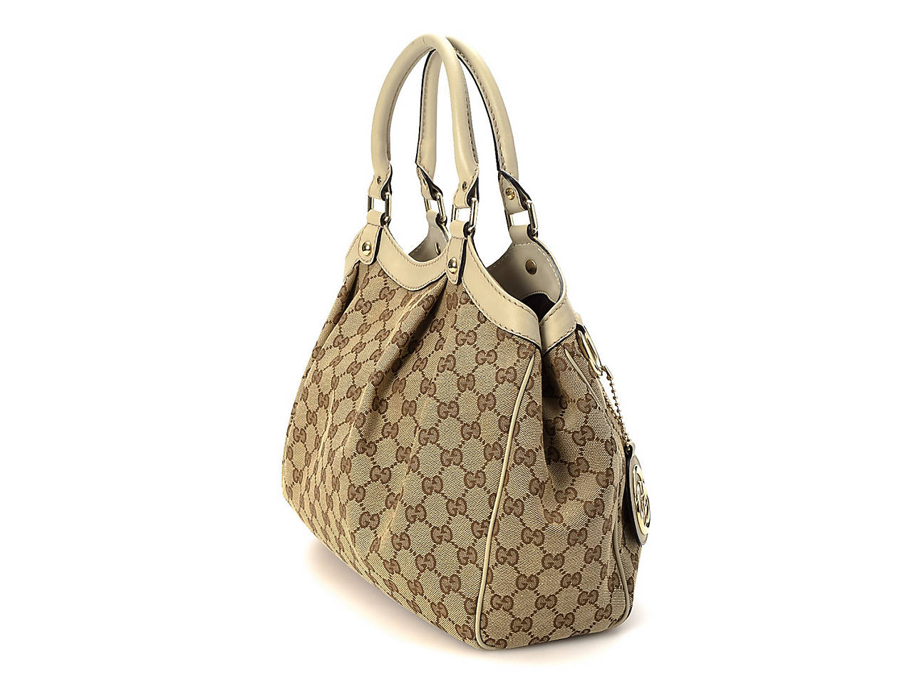 4d98036cb1f9f8 Gucci - Vintage Luxury GG Canvas Sukey Shoulder Bag Women's Handbags ...