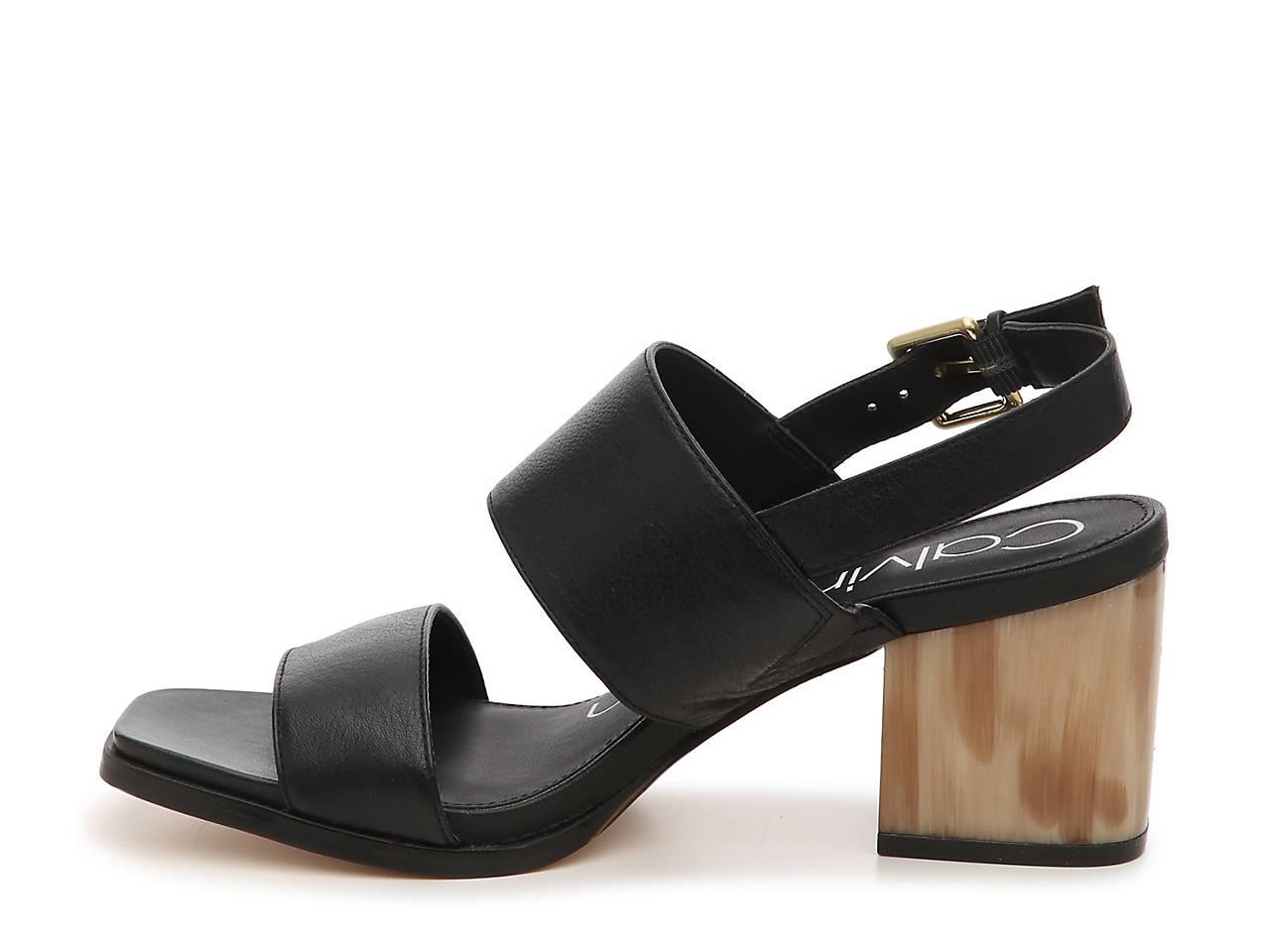 4305d0ff84e5 Calvin Klein Rosemary Crevo Sandal Women s Shoes