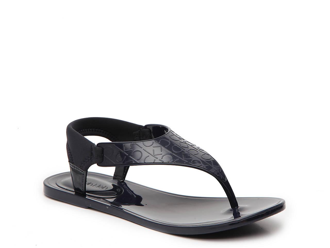 4e6eedb60 Calvin Klein Janny Jelly Sandal Women's Shoes | DSW