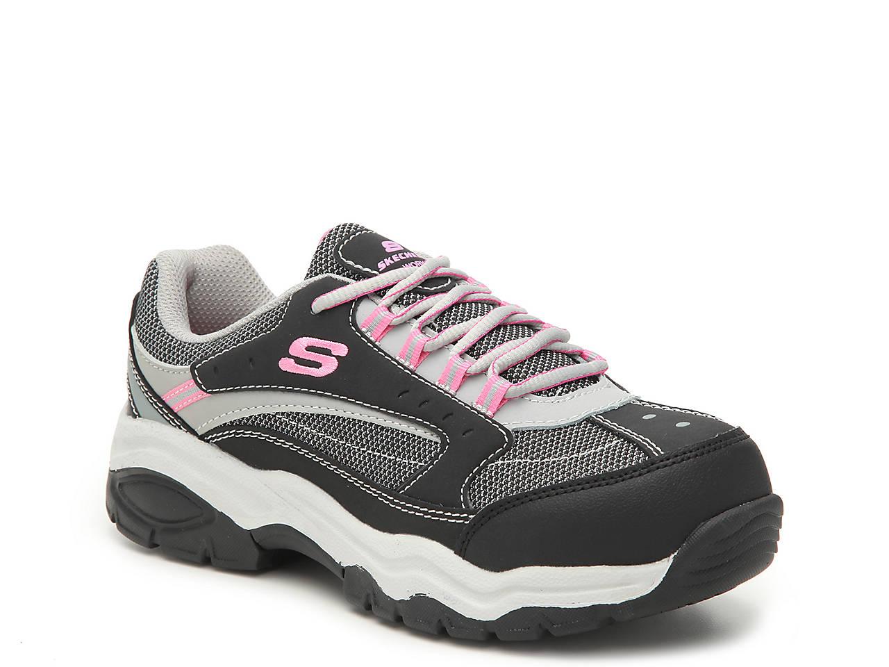 skechers steel toe womens