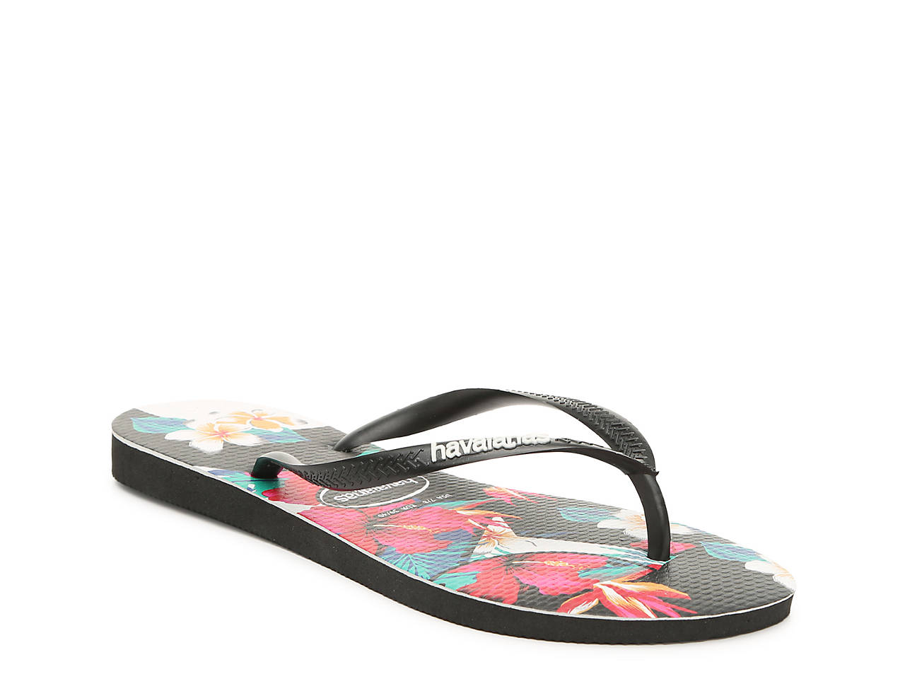 827a4173a790 Havaianas Slim Tropical Flip Flop Women s Shoes